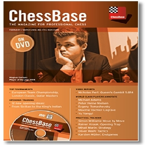 مجله تصویری شطرنج Chessbase Magazine 170 - February / March 2016
