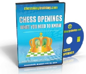 نرم افزار تمرین شروع بازی Chess King Training Openings Training Software