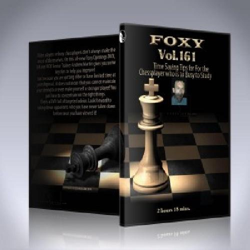 دانلود فیلم آموزشی شطرنج فوکسی شماره FOXY DVD SERIES – VOL 161