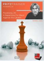 مجموعه گشایشی کامل برای سیاه در برابر کاتالان توسط استاد بزرگ دانیل کینگ- power play24 : Arepertoire for black against the catalan